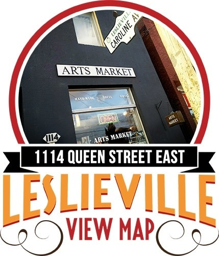 Toronto Leslieville Arts Market - Shop or become a vendor