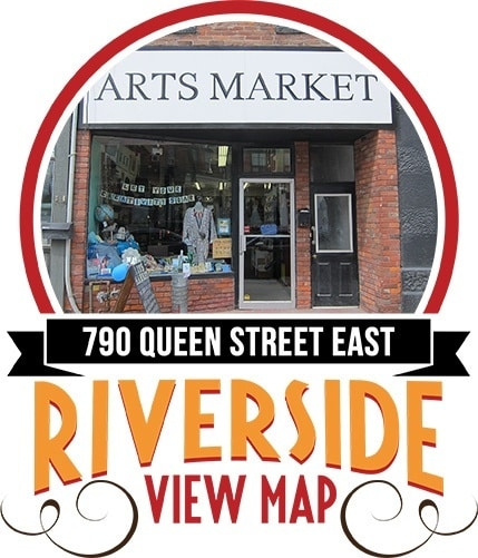 Arts Market Location Riverside - Toronto